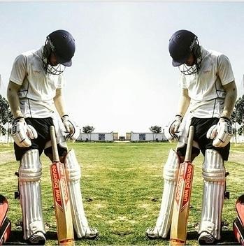 The Run Machine- @surajkohli18  is all set for the net session #delhi #tests