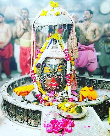 🙏🌹 जय श्री महाकाल 🌹🙏 श्री महाकालेश्वर ज्योतिर्लिंग जी का भस्म श्रंगार आरती दर्शन! 8 अप्रैल 2019 सोमवार! #bholebaba  #bhole-ke-bhakat  #baba  #shambhu  #shiv  #jai---shiv--shankar--bhoenath #shiva #mahakal #mahadev_ke_diwane__