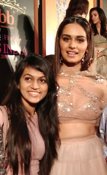 Pleasure meeting the gorgeous @manushi_chhillar and @missworld family who graced @fbbonline @colorstv Femina Miss India 2018 Press conference. . #thehetalgada #manushichhillar #missindia #missworld #missworld2017 #feminamissindia #feminamissindia2017