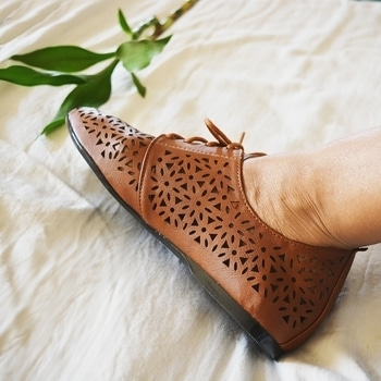 Seen a beauty like this before? We bet you haven't ! 😍  Drooling over these lazer cut tan shoes from our latest range!! 😘  Get a flat 30% off on all footwear as part of our New Year Sale ! Valid only till 31st Jan !   . . . #footwear #shoes #tan #lazercut  #pretty #comfortable #beautiful #musthave #shopping #shoeaddict #accessorylove #accessories #fashionaccessories #fashion #style #styling #stylist #stylegram #roposostyle #roposolove #soroposo #roposofashionista #roposofashion #roposostyle #roposoaccessories #roposocanopy3  #delhigram #chandigarh #mumbai #ootd #accessoryoftheday #potd #bloggerstyle #blogger  #jokerandwitch