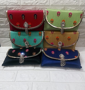 Craftstages International presents to you designer  clutches  (Only WHOLESALE) We can also Make, Customize,export & Import all style of Bags & Clutches with Quantity.#ethnichandbag #indianmade #madeinindia #qualitybags #easytocarry #variationincolors #durable any Wholesale queries please call or whatsapp at +91-8882376001(ONLY WHOLESALE) or you can mail us at : craftstagesinternational@gmail.com