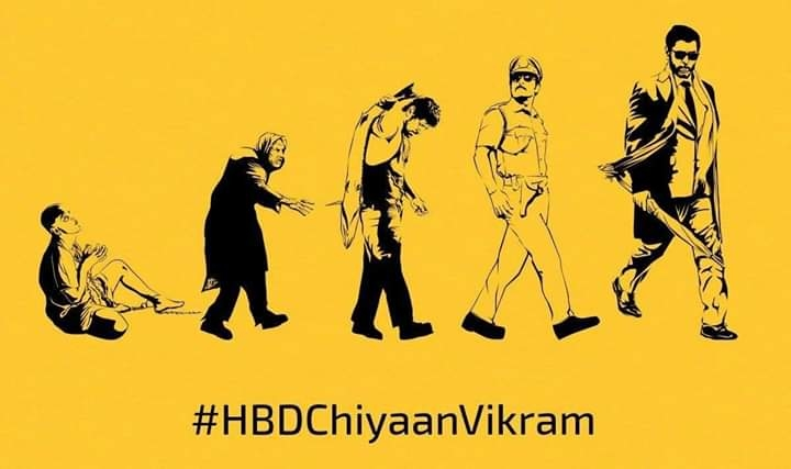 💗💗💗 Happy  Birthday #ChiyaanVikram sir 🎂🎁🎊🎉  😍 wish u all success 😊👍  #HBDChiyaanVikram 💗💗💗 The man with 0% of haters.. The man who is known for dedication The darling of handsome.. The most versatile actor of cinema.😍🎈🎉🎂  #HBDVersatileVIKRAM  #HappyBirthdayChiyaanVikram  #HBDChiyaanVikram