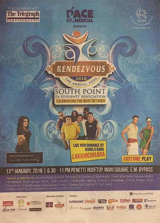 Pace IIT. Medical is presenting South Point Ex Student Association the Best of Times. Glam World Face is one of the partner of this Event. Glam World Face models are participating in this Event. #GlamWorldFace #Events #Reunion #Rendezvous #LivePerformance