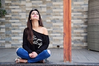 Be happy, and a reason will come along👻👻 . . . . . #happyme #fashiongirl #fashion #delhi #girl #happymood #happy  #lifestyleblogger #lifestyle #style #girl #smile #alonetime #muchhappy #happymoment #stillhappy #happyhappy #mood #stayhappy #happiness #self #happymood 👻👻 . . . .  Candid click 📷@manan_photographer