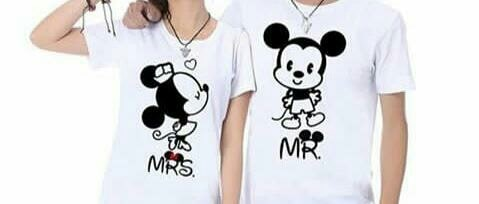 #couple #coupletshirts #printed #love #mickeymouse #micky