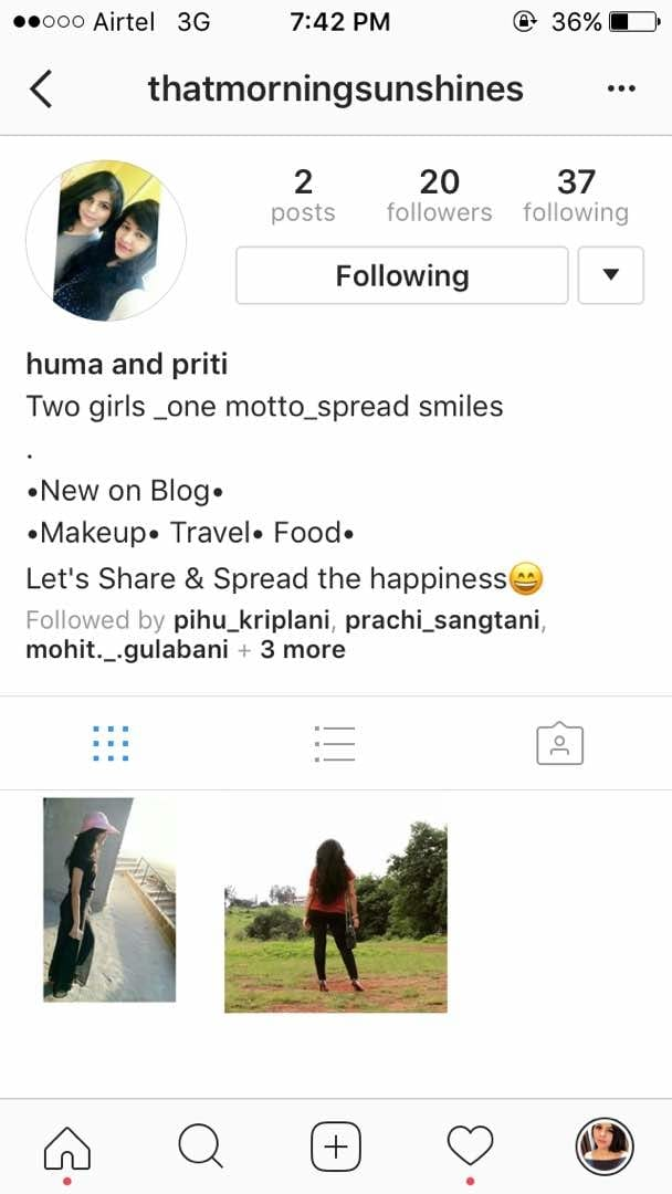 Hey you all lovely people😄  The new blog has been started about affordable fashion , travel , makeup and lots more in collab with priti.    👉 @thatmorningsunshines  👈            ☝         Instagram page  check it out guys!! 😄 You sure wont regret. it is a treat for fashion people. see u there 😄 #keepsmiling #soroposo #trending #instagram