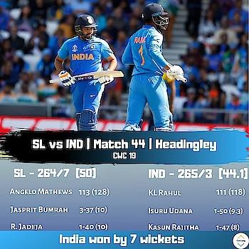 Rohit, Rahul hundreds trump Sri Lanka  #SLvsIND #srilankacricketteam #srilankacricket #srilankadaily #srilanka #odi #odicricket #cwc #CWC19 #cricket #cricketworld #cricketworldcup #cricketworldcup19 #cricketworldcup2019 #lovecricket #rohitsharma45 #rohitsharmafanclub #klrahul #rahulkl #indiancricketteam #TeamIndia #hitmanrohit
