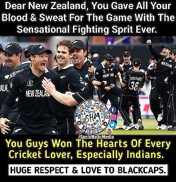 #cwc2019 #cwc19 #worldcup #worldcup2019 #newzealand #blackcap #blackcaps #won #hearts #engvsnz #nzvseng