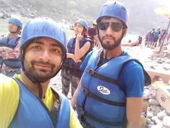 Off to Rafting #rishikesh #shivpuri #uttrakhandcamp