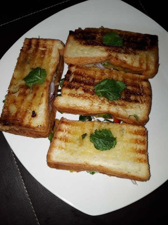 Home made grilled sandwich❤❤