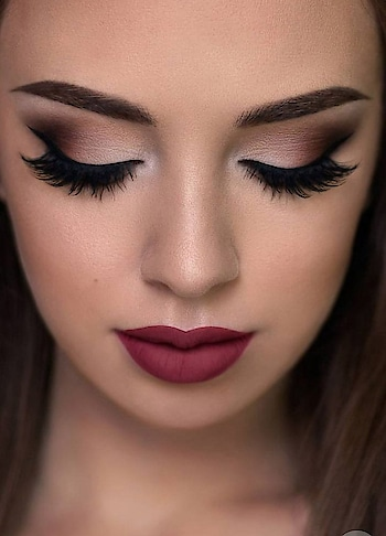jhuki jhuki si nazar.....dhaye hum pe kahar! #ropo-makeup #makeup #cosmetic #lipstick #mac #makeup #summer makeup #weekendfun #weekendpost #weekendvibes #weekendmood #lipstickoftheday #lipsticklove #eyelashes #darklips #airbrushmakeup #perfect or not??  #lovethelook #livenow #weekend