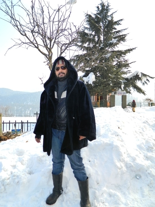 Killing the winters. black can never go out of fashion