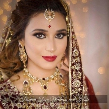 Perfectly glammed up by fashionfacemakeupandhair!  #WedLista #FashionForWeddings