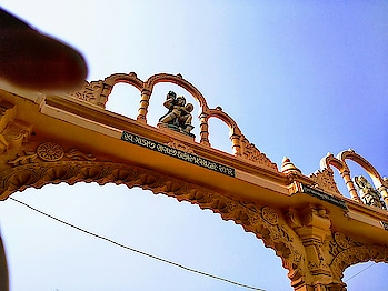 Royal entrance gate of zundal Historical place Believe me it's mobile click #photography #royal #historical #historic place #historical place where we stay in past #historicalmonument #historicalarchitecture #architecture #historicday #mobilephotography #randomshots #roposodiaries #beautiful_places #gandhinagar