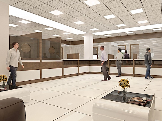 one of my latest Bank interior design project on request @ Sonal, Supriya 😃👍😃