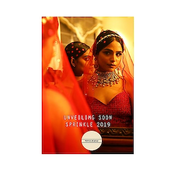 #behindthescenes of #SprinklebyNityaBajaj  Stay tuned as we bring the magic of sequins to you💓 #LabelNityaBajaj #sprinkleawf19 #AWF19 #sprinkle #hairandmakeup #red #bts #wip #comingsoon