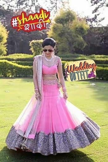 Desi wedding dress #weddingoutfit #shaadishaadi