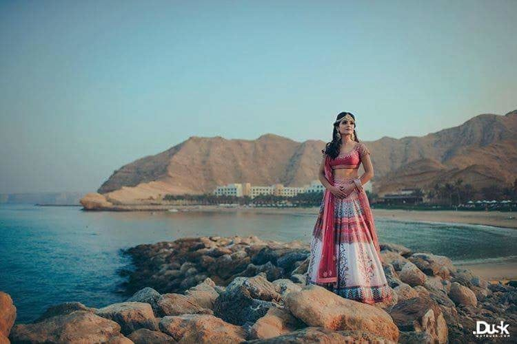 #BridalLook  Mermaid by the sea shore!  Image Credit: dotdusk  #WedLista #FashionForWeddings