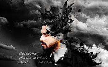 Creativity Make me Feel Alive #quotes