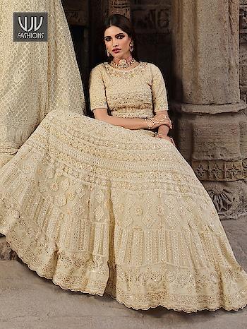 Buy Now @ https://bit.ly/2ChYLWz  Auspicious Beige Color Georgette Designer Lehenga Choli  Fabric - Georgette  Product No 👉 VJV-LAKH925  @ www.vjvfashions.com