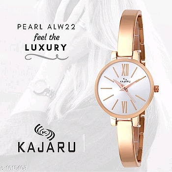245 Only Women's Stylish Analog Watch Material: Metal Size: Free Size Type: Analog Description: It Has 1 Piece Of Women's Watch