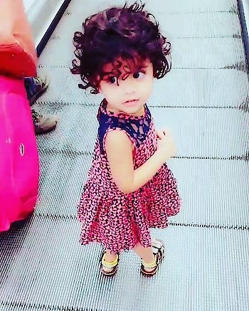 My munchkin  #mum #indianstyleblogger #parents #parentingblogger #ropo-love #baby #curlyhair #fitmums #mybaby #mommies #mcmdiaries #fitness #fitnessblogger #bloggerlife