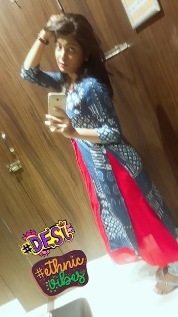 Keep it stylish, go ethnic ✌ #desi #ethnicvibes