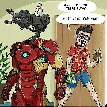 #comics #ironman #filmykeeda #roposostar