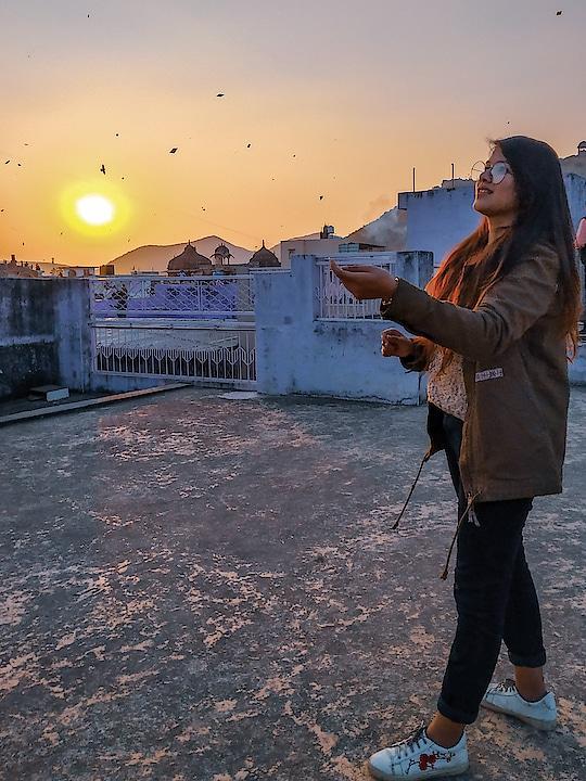 Happy Makar Sankranti!!!! #ropo-love #lifestyleblogger #roposostar #bundi #rajasthan