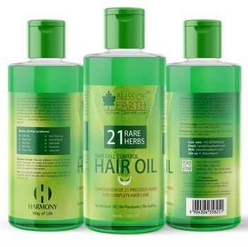 Are you suffering from hair fall?? Try the all new Bliss of Earth hair fall control oil formulated with 21 rare herbs. See the effect from first day itself.  It comes with 100% money back guarantee so you can stop your hair fall without any worries. Available only on Amazon.  #hairfall #hairfalltreatment #hairfallcontrol #hairfallremedy #hairfallsolution #blissofearth #herbs