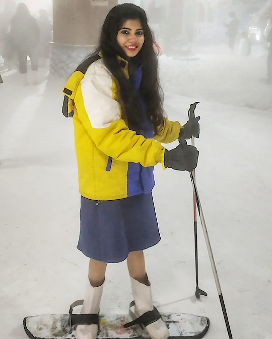 This was the first time I tried Ice skiing though in an artificial snow but it's worth it. I can't wait to try the same in real in the mountains. And yes it requires so much patience and strength to do this.  #beautyfitnessfunda #iceskiing #phoenixmarketcitykurla #snowworld #travelstories #travelblogger #cupidtravellers #experience #bucketlist #needtodo #lifestyleblogger #vadodarablogger #mumbaiblogger #ahmedabadblogger #mumbaidiaries #dipidtravels