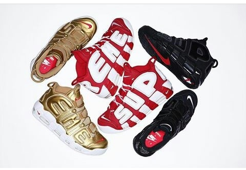 Get your pair……by any means necessary. for full release details on the Supreme X Nike Air More Uptempo, tap the link in our bio #sneakers
