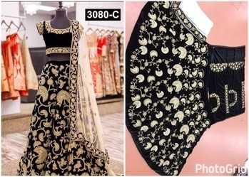 As per demand in market Design is back in stock now 3 colour  Code-3080  Full set price-2990 Single price-3095 PS  Exclusive designer bridal lehenga now in 3 colours  (Purple,Black,Red,)  Fabric details  Lehenga semi stiched Pure velvet with heavy embrodery coading nd thread work with colourful stone  Inner tasar silk  Duppata soft net with embrodery lace & stone  Blouse pure velvet with embrodery work front & back with stone (Blouse unstiched will come)  3 colour ready stock now