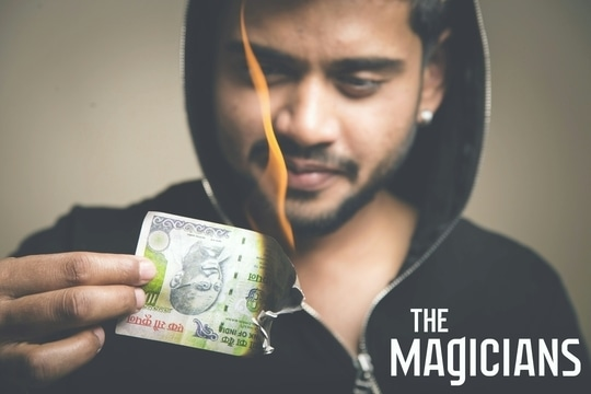 Techno Magician, Illusionist Sourav available for Events & Concerts.   Visit our Official Website for more information - www.souravmagic.com