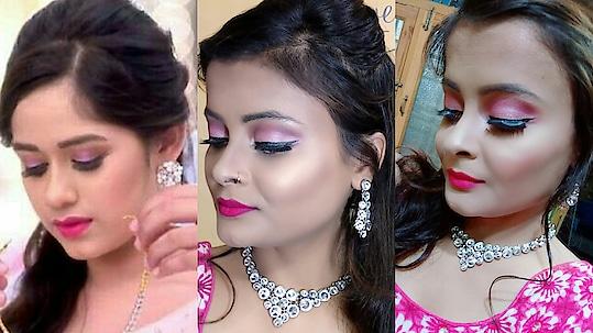 pankti sharma inspired makeup look