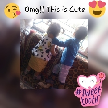 #couplegoals #baby love ❤️️ #babyfashion #cutenessoverloaded #cutenesswelldefined #cutenessoverloaded #omg #baby #sweettooth  😘😘😘 #SweetTooth