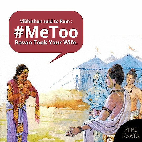 "#MeeToo had its place in history too . . On this day of "" DHARM "" winning over "" ADHARAM "". . . Lets pledge together  that we will end this evil of "" Women Harassment "" and treat all genders with #Respect and  #Equality . Happy Dusshera To ZeroKaata family . . #JashanEUtsav #IndiasBiggestJewelleryUtsav #Utsav #indianjewellery #IndiasBiggestJewellerySale #Jewelry #jewelleryaddict #jewelrystore #jewellery #jewelleryshop #Bestoftheday #Followalways #festivalfashion #indianfestival #IndiasBiggestJewellerySale  #Diwali #karwachauth #karwachauthshopping #greatindianfestivalsale #amazonprime #amazongreatindianfestival #bigbilliondays #trending"