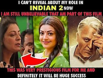 #KajalAggarwal about #Indian2   #kamalhassan #shankar #AnirudhRavichander