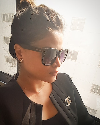 """""""THE best things in life are free. """"The second best are very expensive."""" #chanel #cocochanel #chanelearrings #chanelbrooch #tomford #sunglasses #pic #fashion #chaneladdict #formal #outfitoftheday #photo #selfie #insta #classic #stylist #instagram #hairstyles #lookoftheday #dubai #dubaifashion #instagood #pic #pictures #classy #fashionable#picoftheday #fashionista #classy #class"""