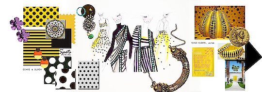 Spot takes inspiration from #yayoikusama 's artwork and tribal influences at holiday destinations. Our summer resort is efortless and effective with fun embellished details and accents. The western wear collection is perfect for a day soiree or a yatch sundowner. Stay tuned as we unveil SPOT shortly with its beautiful circles and lines!! #yellow #spot #spotsr19 #nityabajaj #labelnityabajaj #newcollection #springsummer #summerresort19  #yayukikusama #japan #japanese #japaneseart #japaneseartist #tribal #holiday #destinationwedding #yayoikusama #yayoikusamamuseum #yayukikusama #sketchboard #sketch #mood