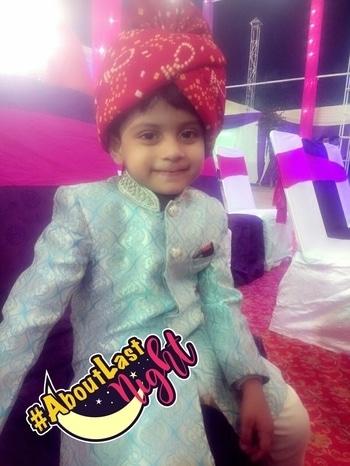 #heropanti#littlechamp #aboutlastnight