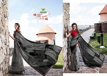 @Order #now  #whatsapp +91-9687636387 #whatsapp  +91-7990312831 #suhane pal 14  #fabric  -Geoergette #with Blouse #designer-wear  #party wear #casualstyle  #printed collection #set  of 18 Pieces #single  Avalb