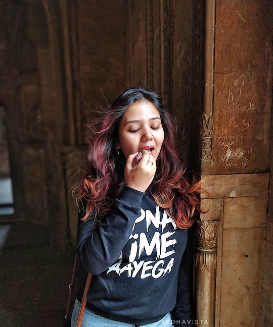 """▫️""""You can't keep changing men, so you settle for changing your lipstick."""" - Heather Locklear . . @ranveersingh @aliaabhatt @gullyboy.official.page . . TAP FOR OOTD DETAILS . . #delhimonuments #safdarjungtomb #plixxoblogger #plixxoinsider #lifeisgood #lifestyles #mylife #lifestylewear #lifestyleinspo #lifestyleclothing #lifestylegoals #lifestyleblogging #lifestyleinfluencer #lifestyleblogs #lifestylephotos #blogger #bloggerstyle #bloggerlife #bloggers #bloggerfashion #bloggergirl #bloggerlifestyle #lifecoach #lifehack #lifelesson #lifeisgood #lifelessons #mylife #lifechanges #lifestylegoals #lifestyleblogging"""