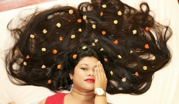 Subscribe to Sushmita's Diaries on YouTube for Hair Care Videos. #hairstyletips #natural-hair #hairoftheday