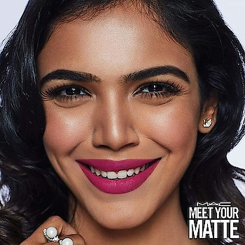 Meet your Powder Kiss! The perfect matte with the perfect pedigree. Born backstage to makeup artist parents, Powder Kiss is a rich, creamy, soft matte. Its game changing formula means your lips are matte and moisturized at the same time. In love.  Featuring Shriya Pilgaonkar in 'Velvet Punch'  #MACCosmeticsIndia #MeetYourMatte #MACPowderKiss #Hospo24  Buy now: https://bit.ly/2XPBbbT