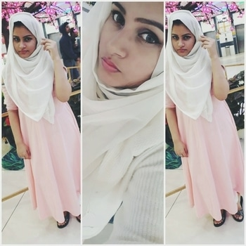 fashion is not about clothes ,its about a look ... #abouttoday #evening #eveningwear #traditional #anarkalidress #hijab #pink #white #prettyinpink #eyes #cateye #wingedeyeliner #smokey-eyes #cat-eye #like #love #awesometimes #eveningwellspent