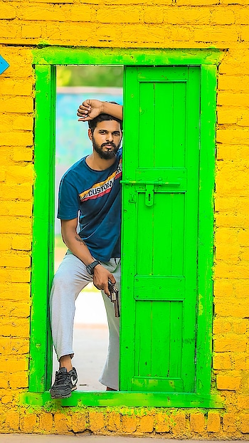 colourful village look #village #look #colorblock #wow #photo-shoto #photography