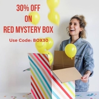 Lets the Mystery unfold today!  Link in Bio. . . . . . #theredbox #crazysexycool #theredboxlove #Boxupthelove #surprisebox #boombox #saletimeisthebesttime #grabnow #nomoremondayblues #mondaymotivation #bestbox #salelove #redmysterybox #box30 #celebritystyle #instadaily #crushingonit #mysterybox #happinessinabox #jewellerylove #treatyoself #yolo #india #boxday #surprisesurprise #mumbai #picoftheday #shopnow #letsgetstarted