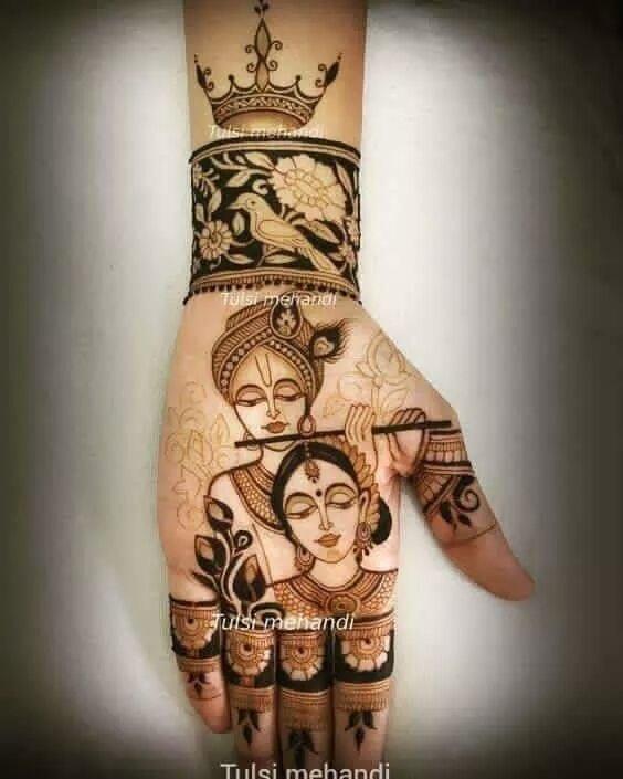 #mehandi #radhe_krishna #goodmorning #wow #nice