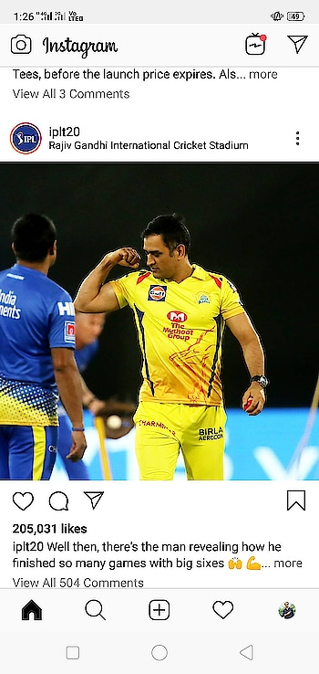 The real King #dhoni-csk #chennaisuperkings #msdhoni #ranchi #indian #feature
